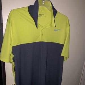 Nike golf XXL Short sleeve collared polo shirt